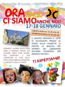 locandina stand oratorio fiera sant'antonio 2015