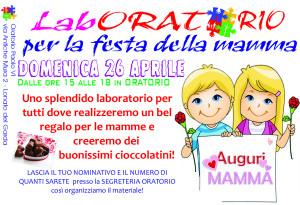 laboratorio FESTA DELLA MAMMA oratorio 2015