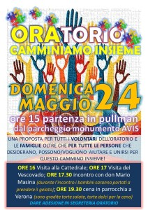 locandina PRIMO INCONTRO AMICI VOLONTARI ORATORIO a verona 2015