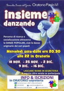 locandina INSIEME DANZANDO 2015-16